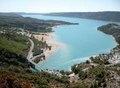 Fonds d'�cran Voyages : Europe Lac de Sainte Croix (Var)