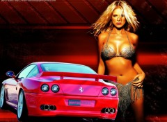 Wallpapers Cars rouge ferrarie