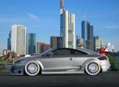 Fonds d'�cran Voitures Nouvelle Audi TT 2007 Fa�on V-tuning !!!