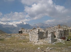 Wallpapers Constructions and architecture Fort de la Turra (Alpes)