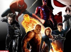 Fonds d'�cran Cin�ma Marvel H�ros