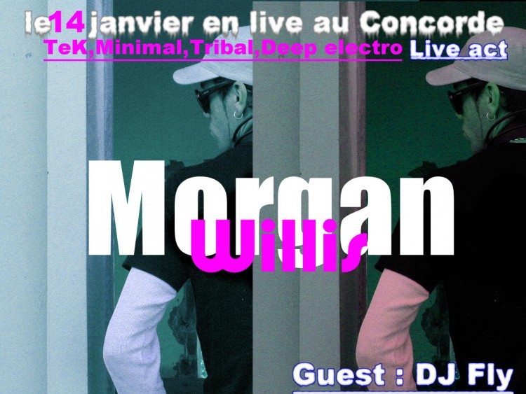 Fonds d'�cran Musique Morgan Willis concorde