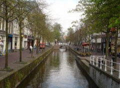 Fonds d'�cran Voyages : Europe Canal � Delft