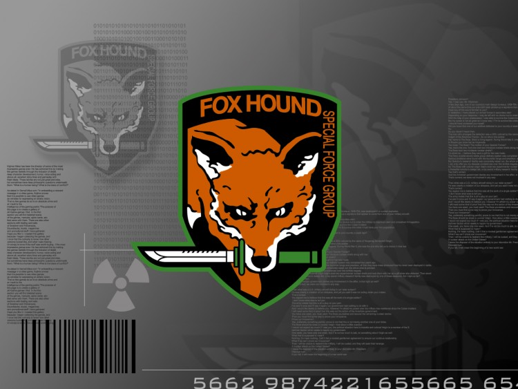 Wallpapers Video Games > Wallpapers Metal Gear Solid FoxHound Unit