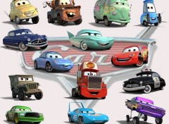 Fonds d'�cran Dessins Anim�s Cars