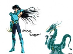 Fonds d'�cran Manga Shiryu du dragon