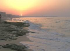 Fonds d'�cran Voyages : Afrique Sunset on Ain Turck