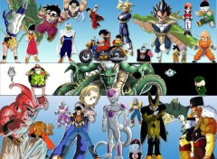Fonds d'�cran Manga Dragon ball z