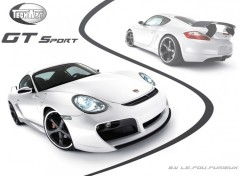Fonds d'�cran Voitures TechArt GT Sport