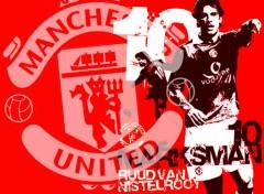 Fonds d'�cran Sports - Loisirs Van-Nistelrooy