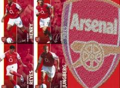 Fonds d'�cran Sports - Loisirs Arsenal