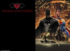 Fonds d'�cran Comics et BDs Batman vs Superman