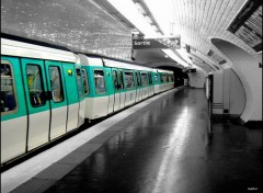 Fonds d'�cran Transports divers STATION de METRO