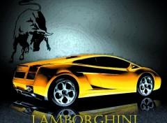 Fonds d'�cran Voitures Lamborghini Gallardo