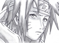 Fonds d'cran Art - Crayon Naruto adulte