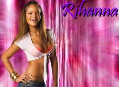 Fonds d'�cran Musique Rihanna