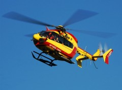 Fonds d'�cran Avions Helicoptere de la securit� civile
