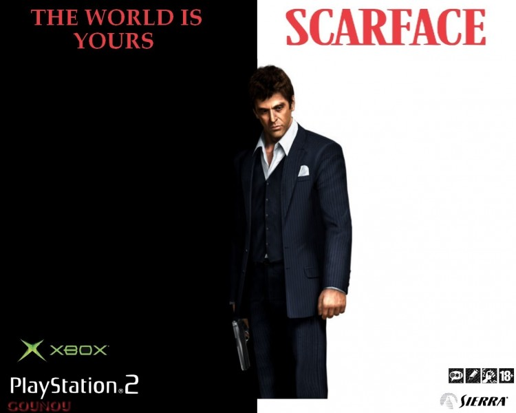 Games Scarface The World Is Yours Wallpaper