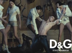 Fonds d'�cran Grandes marques et publicit� D&G wallpaper 1