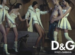 Fonds d'�cran Grandes marques et publicit� D&G wallpaper 4