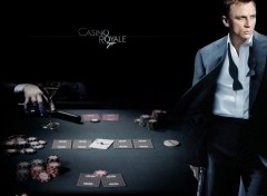 Fonds d'�cran Cin�ma Casino royale - 007