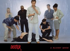 Fonds d'�cran S�ries TV Dexter cast
