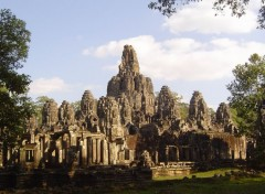 Fonds d'�cran Voyages : Asie Bayon, Angkor