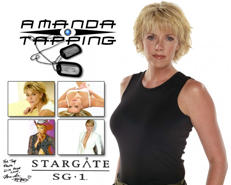 Fonds d'�cran C�l�brit�s Femme Amanda Tapping Amanda Tapping For Fan