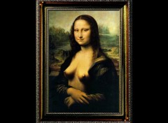Wallpapers Humor The Original Mona Lisa :)