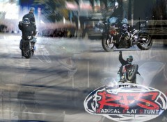 Fonds d'�cran Motos Stunt 2