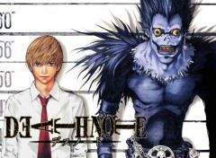 Fonds d'�cran Manga Death note