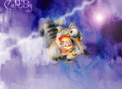 Wallpapers Cartoons Scrat smug