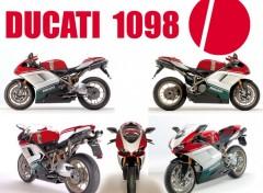 Fonds d'�cran Motos Ducati 1098 S Tricolore