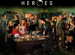 Fonds d'�cran S�ries TV Heroes cast