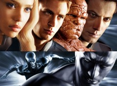 Fonds d'�cran Cin�ma fantastic four rise of the _silver surfer