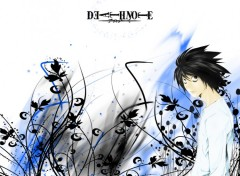 Fonds d'�cran Manga death note L
