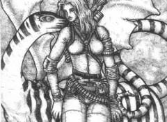 Wallpapers Art - Pencil Warrior 03