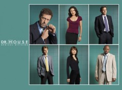 Fonds d'�cran S�ries TV House MD cast