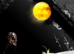 Fonds d'�cran Musique Shakira moon