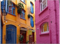 Fonds d'�cran Voyages : Europe London colours