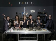 Fonds d'�cran S�ries TV Bones cast s3