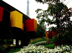 Fonds d'�cran Constructions et architecture Quai Branly