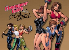 Fonds d'�cran Comics et BDs Danger Girl vs. DOA Girl