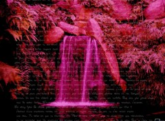 Wallpapers Digital Art po�me d'une cascade