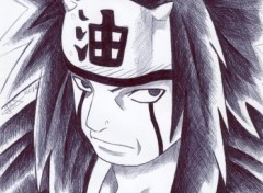 Fonds d'cran Art - Crayon jiraiya