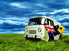 Wallpapers Trips : Oceania Crazy Aussie Bus