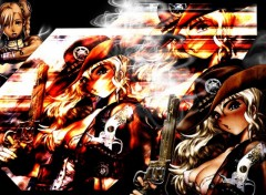 Fonds d'�cran Manga cowboy