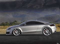 Fonds d'�cran Voitures Audi TT concept TH