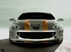 Fonds d'�cran Voitures Peugeot 407 concept TH