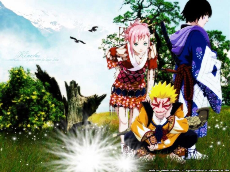 Wallpapers Naruto Anime photos.